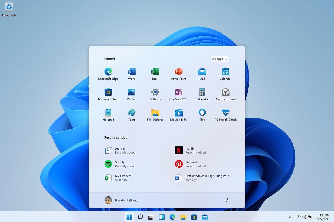 Windows 11-новая операционная система.