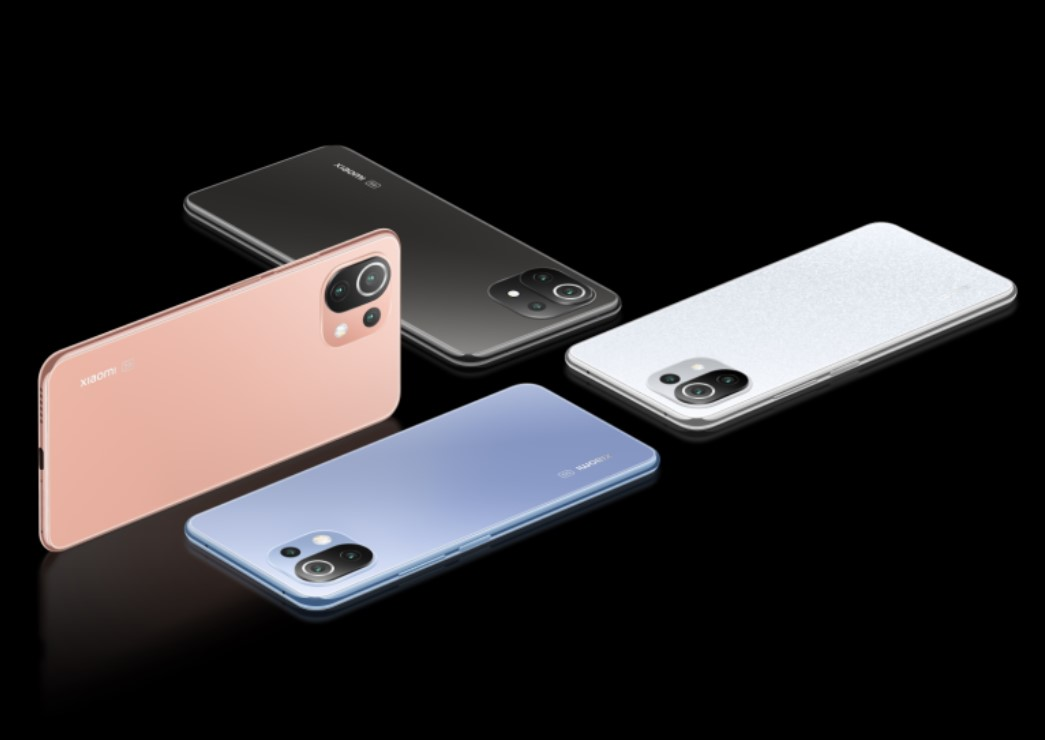 Xiaomi 11 Lite 5G NE-расцветки